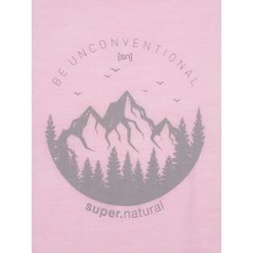 super.natural Printed Koszulka Kobiety, fairy tale melange/light grey unconventional
